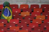 巴西球迷不愿离去