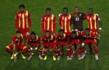 加纳队首发合影