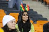 加纳球迷笑看前景