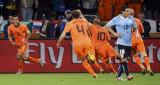 荷兰队奔跑庆祝