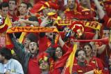 西班牙球迷沸腾