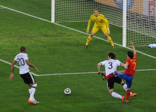 图文-[半决赛]德国0-1西班牙弗雷德里希卡位