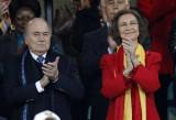 西班牙王后观战