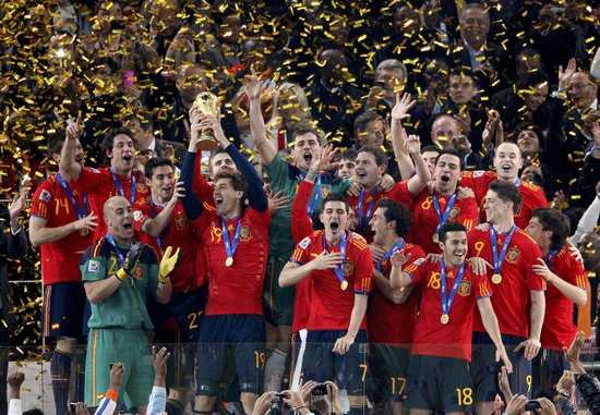 图文-[决赛]荷兰0-1西班牙西班牙队创造历史