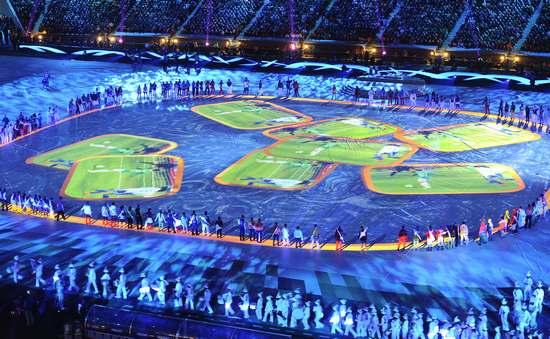 图文-2010年南非世界杯闭幕式 精彩成为记忆_