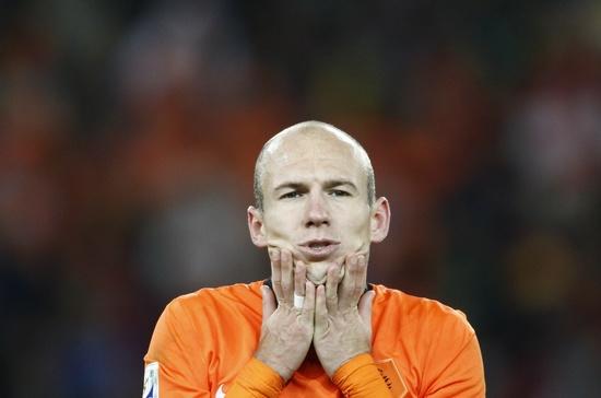 图文-[决赛]荷兰0-1西班牙 罗本为单刀懊悔