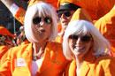荷兰橙色空姐