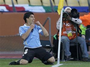 乌拉圭绝杀墨西哥 力压法国南非双双晋级
