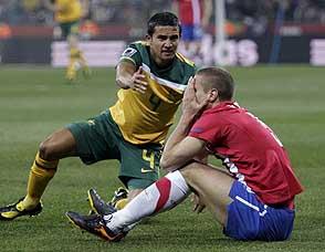 塞尔维亚与澳大利亚双双被淘汰