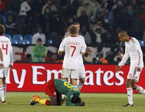 喀麦隆1-2遭丹麦逆转出局