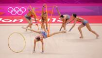 艺术体操集体全能赛况