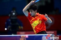 中国男团争夺乒乓球金牌
