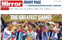 奥运闭幕日国外媒体汇总