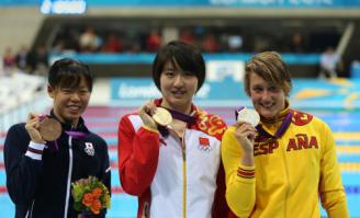 前三名展示奖牌