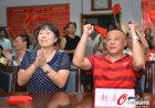 赵芸蕾父母观看比赛