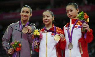 中国姑娘获得金银牌