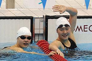 女子400米混合泳叶诗文逆转打破世界纪录夺冠
