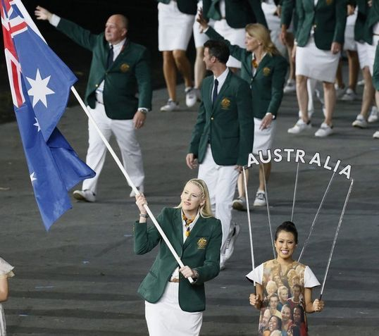 澳洲女旗手