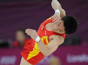 伦敦奥运男子自由操邹凯卫冕夺个人奥运第5金