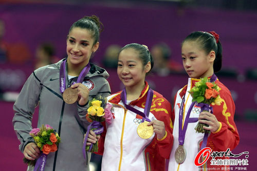 中国队包揽金银