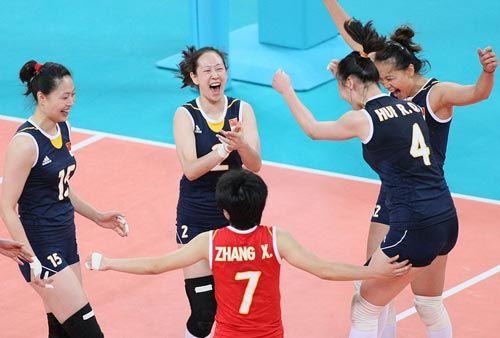 中国女排2-3不敌巴西女排