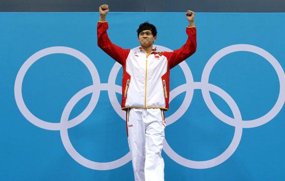 中国男子汉 再登冠军领奖台