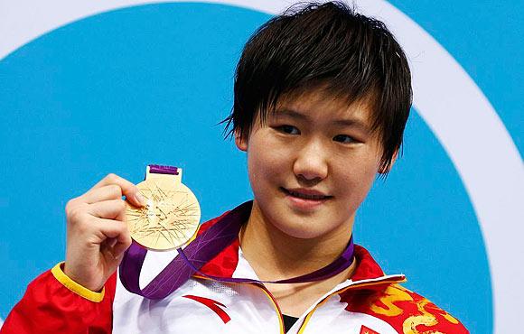 叶诗文200米混合泳夺冠 摘奥运第二金