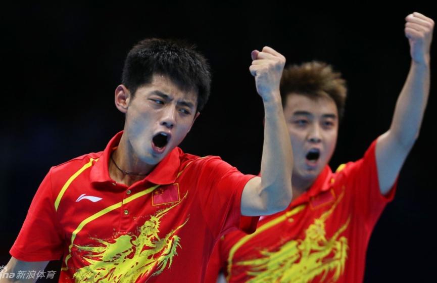 乒乓球男团中国队夺冠