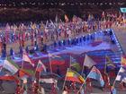 各国运动员代表入场
