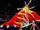 体操男团成功卫冕