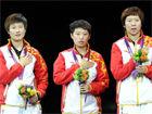 中国女乒团体卫冕