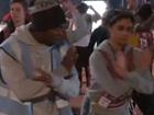 视频-开幕式彩排花絮 揭开幕后演员的排练艰辛