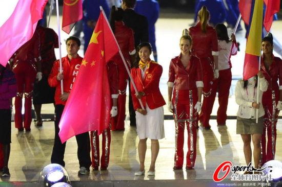 中国旗手徐莉佳