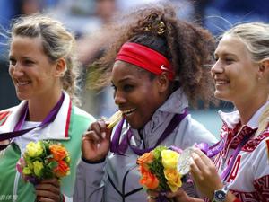 小威莎娃阿扎分获女单金银铜牌