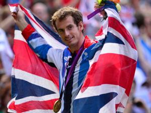 男单决赛穆雷获得金牌