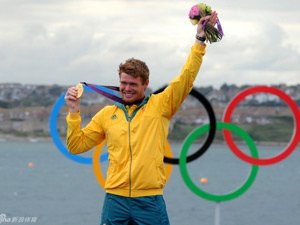 帆船帆板男子激光级单人 斯灵斯比夺冠
