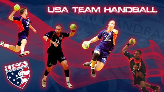 美国手球队的logo