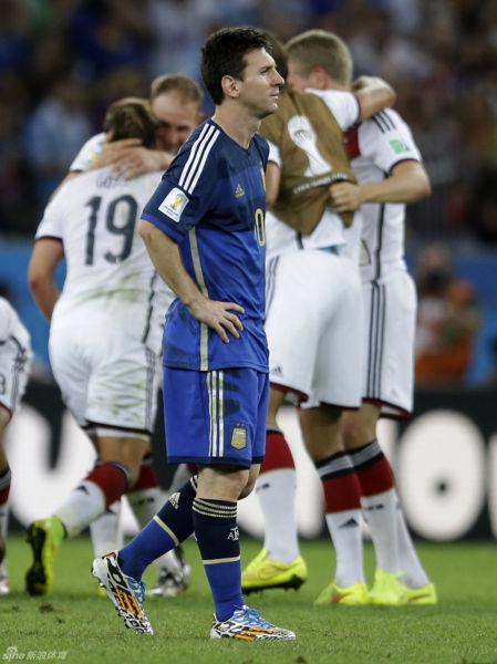 德国在欢庆,但梅西没有哭