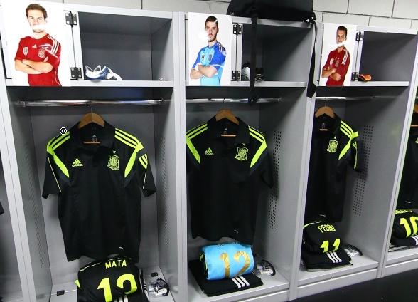 西班牙更衣室一览