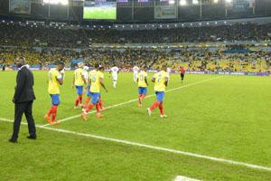 厄瓜多尔VS法国下半场开始