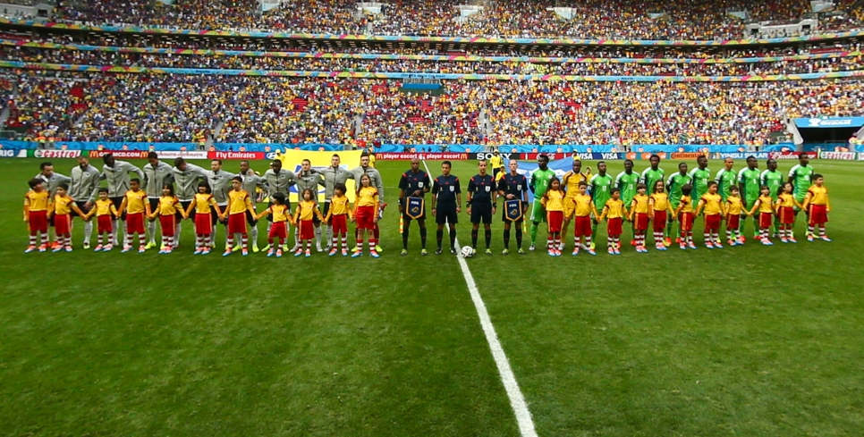 八分之一决赛法国vs尼日利亚