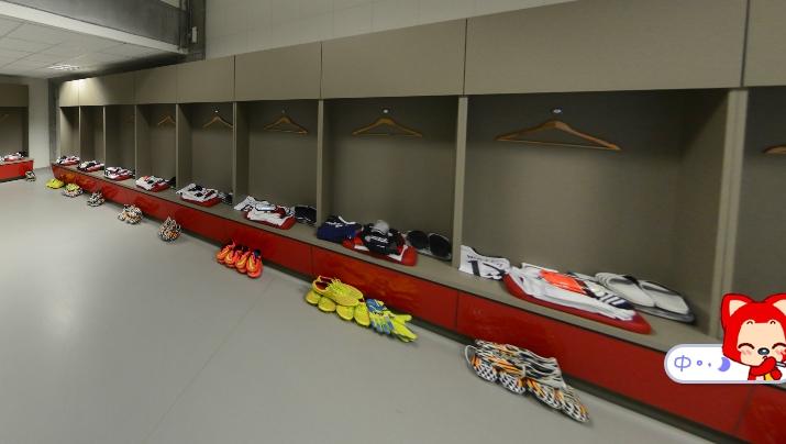 德国队更衣室一览