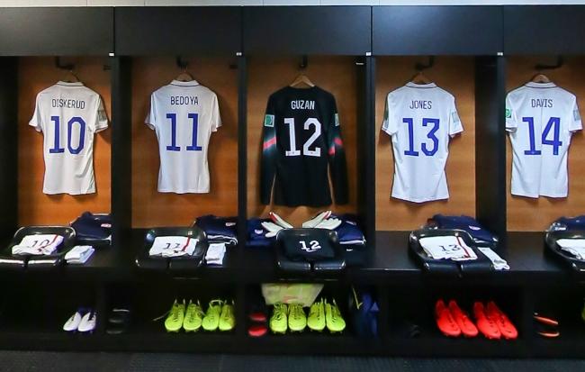 淘汰赛美国更衣室一览
