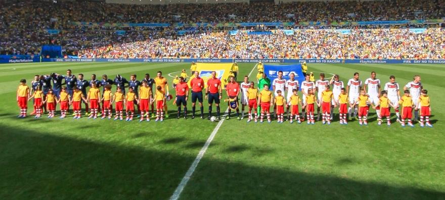德国vs法国开场仪式