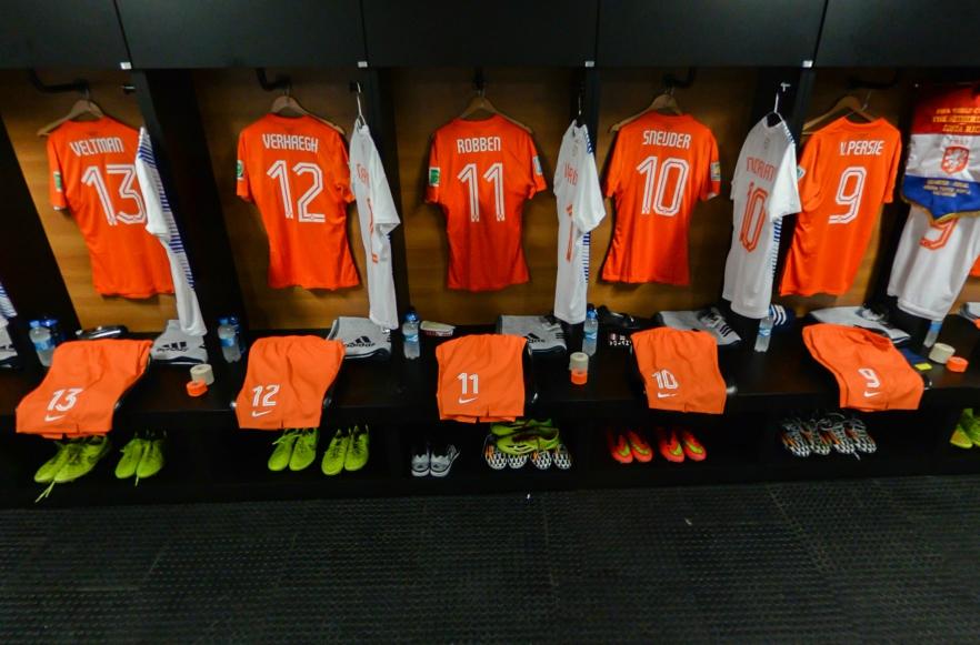 荷兰队更衣室
