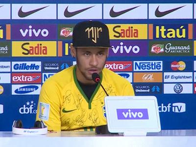 内马尔答新浪体育:巴西永远是足球王国