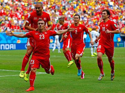 瑞士3-0完胜洪都拉斯