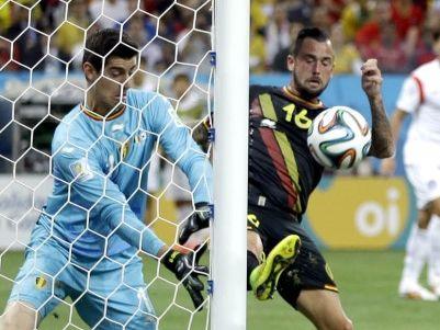 韩国0-1比利时垫底