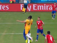 世界杯B组第1轮 智利VS澳大利亚上半场