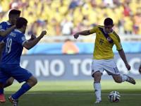 世界杯C组小组赛 哥伦比亚v希腊下半场